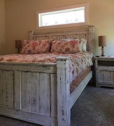 Bed Frame/Wood Bed Frame/bedroom By GriffinFurniture On Etsy