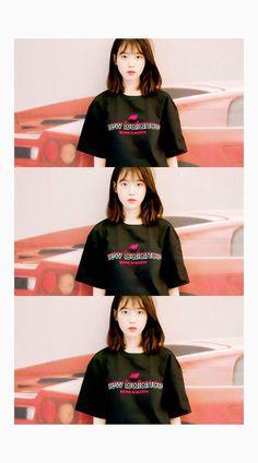 Iu Short Hair, Iu Hair, Korean Short Hair, Korean Girl, Short Hair Styles, Girl Crushes, Iu Fashion, Fashion Outfits, Korean Actresses