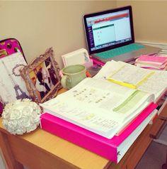 Study desk notes #studyhard