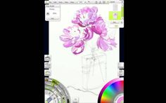 Artrage Watercolour Painting Time Lapse - www.youtube.com/watch?v=ezBGwkry5S0