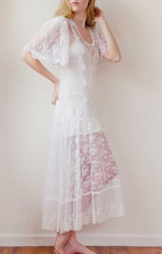French Lace Sweet Stunning Vintage Wedding Dresses Ideas with Lace by Grace Love