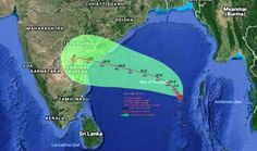 Vardah (Varda) wikki Effect on people of Chennai,Tamil Nadu Karnataka, Goa, Chennai, Kerala, Sri Lanka, News, People, Folk