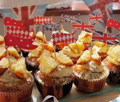 Royal Elderflower & Lemon Curd Butterfly Cakes #Formansjubileebakeoff #Yummy #cupcakes