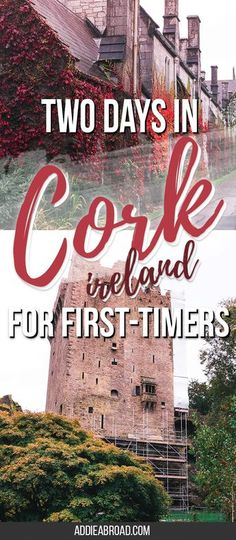 Want to visit Cork, Ireland but only have a weekend? Check out how I spent two days in Cork, Ireland as a first-timer! This is the perfect two day Cork itinerary to see the best of Ireland's County Cork in a weekend - including Cork City and Blarney Castle!