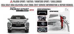 2016 Mitsubishi Montero Sport / Nativa / Pajero Sport Repair Manual:                          ...