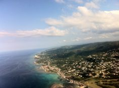Flying away from Montego Bay