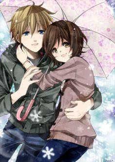 Anime couple | Anime cute couple