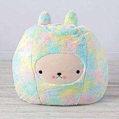 Bunny Bean Bag Chair by Bijou Kitty - The Land of Nod
