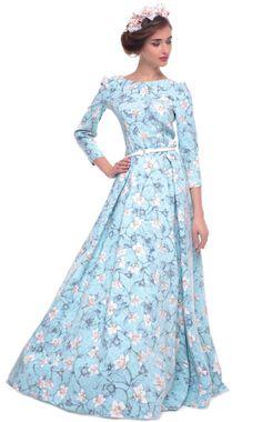 Платье в пол Ксения Князева