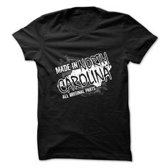 Made in North Carolina T Shirt, Hoodie, Sweatshirt