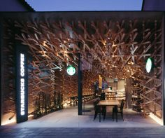 Not Your Average Starbucks by Kengo Kuma