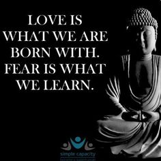 #truth #loveiswhatyouare #feariswhatyoulearn