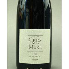 Domaine Cros de la Mûre, Côtes du Rhône, 2013, 75 cl., BIO