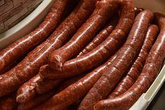 Csabai kolbász - Piroskockás Izu, Sausage, Food, Drinks, Kitchens, Sausages, Essen, Meals, Yemek