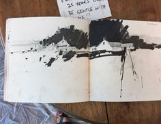 Tony Allain Sketch Book