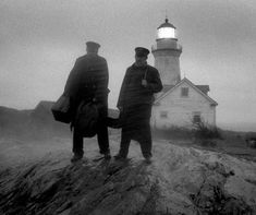 The director of The Witch and now The Lighthouse shares some of the inspirations behind his nautical horror tale starring Robert Pattinson and Willem Dafoe as lighthouse keepers on a lonely island. Lighthouse Movie, Lighthouse Keeper, Horror Tale, Horror Movies, John Krasinski, Rob Zombie, Robert Pattinson, Willem Dafoe, Movie Shots