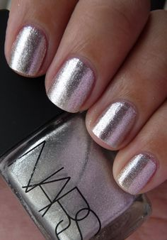 NARS Space Odyssey silver foil Holiday 2011
