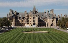 """The Biltmore Estate, the home of the Vanderbilts, was called """"the most distinguished private place"""" by legendary landscape architect Frederick Law Olmsted. Creative Common image by Sandra Cohen-Rose and..."""