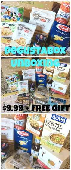 Degustabox Unboxing Review Foodie Subscription Box Coupon Code