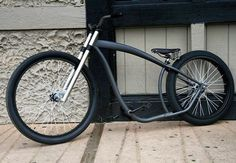 """""""It's pretty amazing how a Nirve Switchblade can be transformed into this mean machine with a shorter fork and larger front wheel. Take note @nirvebicycles…"""""""