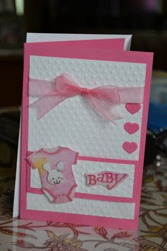 Baby Shower card for Cheryl