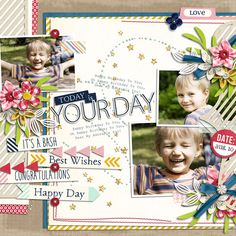 Today is Your Day - Scrapbook.com