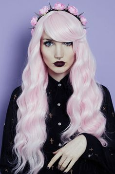 Long Black Wavy Hair Tumblr Picture - Fashion Gallery