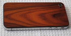 wood iphone replacement back