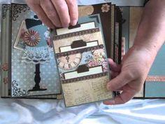 Graphic 45 Ladies Diary Mini Album
