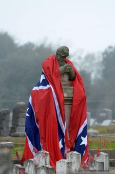 Confederate History Month and Confederate Memorial Day. Photo - Confederate Rest, Magnolia Cemetery, Mobile AL.We in the south are no longer allowed to honor our past hero's Confederate Memorial Day, Confederate Flag, Confederate Monuments, Confederate Statues, American Pride, American Civil War, American History, Southern Heritage, Southern Pride