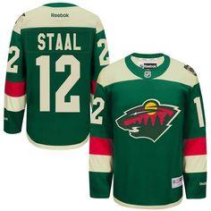 Reebok Minnesota Wild  12 Men s Eric Staal Authentic Green 2016 Stadium  Series NHL Jersey Eric e69a78ba1