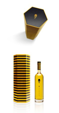 B Honey Cachaça #packaging
