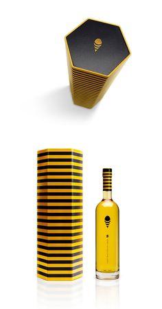 B Honey Cachaça #packaging