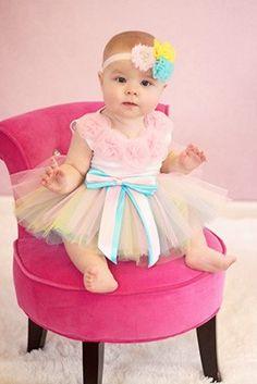 Pastel Rainbow Tutu: Birthday and Princess Tutu in Pastel Colors Children's Boutique, Girls Boutique, Cinderella Tutu, Emo Dresses, Long Dresses, Party Dresses, Fashion Dresses, Dress Long, Fabric Tutu