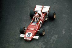 Clay Regazzoni F1 312 B2 1971 Monaco