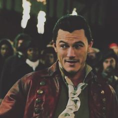 Who else is excited for Beauty and the Beast to come out on DVD tomorrow?? #lukeevans #gaston #beautyandthebeast