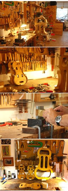 Jonathan Hai - Violin Maker   #luthier  #workshop     http://haiviolins.com/