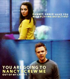 Community is the best comedy on TV right now. Or it would be if it were on TV right now.
