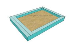 How to build a sandbox | Free Outdoor Plans - DIY Shed, Wooden Playhouse, Bbq, Woodworking Projects