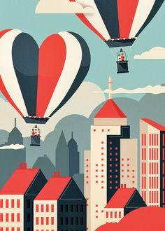 Newsworks Illustrations by Neil Stevens on Behance