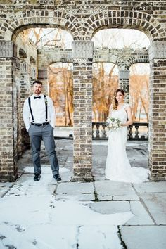 Winter Mansion Styled Shoot \ By Mari Photography on @AislePerfect via @aislesociety