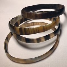 Bracelet fin corne de zébu