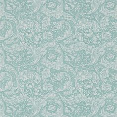 Buy Morris & Co Bachelor's Button Wallpaper Online at johnlewis.com