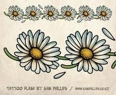daisy reference for tattoo i want