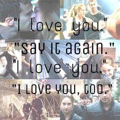 Tris prior and tobias eaton Divergent Dauntless, Divergent Trilogy, Divergent Quotes, Divergent Insurgent Allegiant, Tris And Tobias, Tris And Four, Tris Prior, Famous Movies, Book Boyfriends