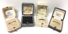 vintage ring boxes curve