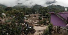 Suman 44 muertos por tormenta Earl en Puebla y Veracruz