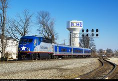 RailPictures.Net Photo: RNCX 1797 North Carolina Department of Transportation EMD F59PHI at Greensboro, North Carolina by Trey Belton