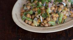 Pan-fried Chickpea Salad