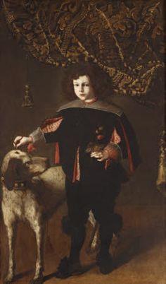 Anónimo, Niño con perro, 1630-69. Ickworth © National Trust